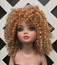 "DOLL Wig, Monique ""Tanesha"" Size 6/7 in Light Golden Blonde"