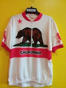 CALIFORNIA CYCLING KUCHARIK CLOTHING CYCLING JERSEY SIZE ( 2X )