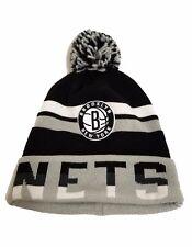 Brooklyn Nets Hat - NBA Basketball Mitchell   Ness Knit Beanie Cap 1cd178bab369
