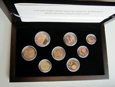 LATVIA 2014 FIRST OFFICIAL EURO COIN SET PROOF!!!