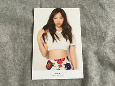 AOA 1st Mini Album SHORT HAIR Photocard - Mina