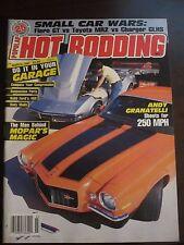 Popular Hot Rodding March 1987 Andy Granatelli Shoots for 250 MPH No Label (CC)