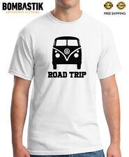 R 0245 WW Kombinationsfahrzeug ROAD TRIP hippie flower power Kombi 1950 T-shirt