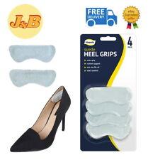 4 Suede Heel Grips Shoe Boot Pad Foot Protectors Gel Heal Comfort Liners Blister