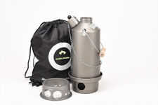 "Ghillie Kettle & ""Hobo"" Stove - Hard Anodised ""The Adventurer"" 1.5 Ltr"