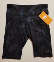 Champion Women's Black Gray Turquoise Fitted Athletic Shorts Duo Dry XS or S NWT