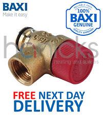 BAXI IDRAULICO 3 BAR (Prv) Sollievo Pressione Valvola di sicurezza 248056 parte originale nuovo