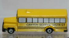 MICRO MACHINES SCHOOL BUS CANYON SCHOOL DISTRICT LOOSE RARE