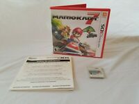 Mario Kart 7 (Nintendo 3DS) Complete Game with Case & Insert Tested Working