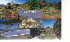 Carmel By The Sea   Carmel  California  5 Scenes   Unused Chrome Postcard 8184