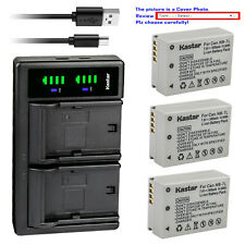 Kastar Battery LTD2 Charger for Canon NB-7LH CB-2LZ Canon PowerShot G10IS Camera