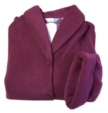 "David Nieper Burgundy Red Cosy Dressing Gown Size XL 47"" Length BNWT House Coat"