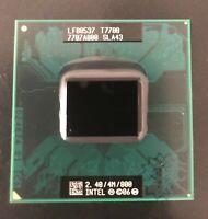 Intel Core 2 Duo  T7700 SLAF7 SLA43 2.4 GHZ 4MB 800MHZ CPU Processor