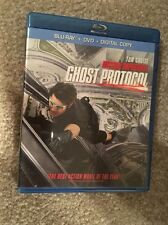 Mission Impossible Ghost Protocol Bluray 1 Disc Set ( No Digital HD)