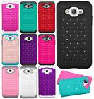 For Samsung Galaxy Grand Prime IMPACT Dazzling Hard Diamond Case Phone Cover