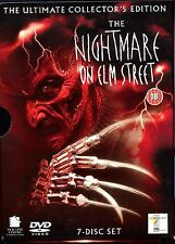 The Nightmare On Elm Street /  Ultimate Collector's Edition - 7 DVD  Set - MINT