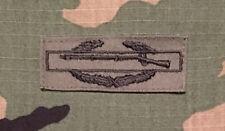 Us Army Cib Combat Infantryman's Badge Od green sew-on Bdu