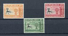 27403) GUINEA 1960 MNH** Nuovi** Malaria 3v - AM