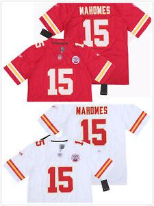 Men's #15 Patrick Mahomes Kansas City Chiefs Stitched Jersey Pick color/size