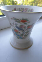 Wedgwood Kutani Crane Vase 9 cm Bone China 1st Quality British