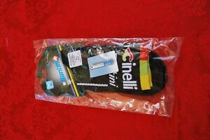 Cinelli Santini Cycling Socks Black Red Yellow Green M L 40 43 BNWT