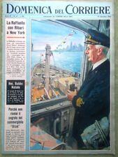 La Domenica del Corriere 19 Dicembre 1965 Adozione Economia Montanelli Calcio Tv