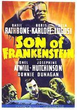 "Son of Frankenstein Movie Poster Replica 13x19"" Photo Print"