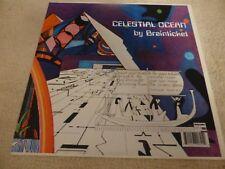 Brainticket Celestial Ocean 1973 Lp (reissue) clp2084 Purple vinyle & Badge