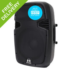 "PRO RS1500A 15"" INCH Active 1600W 2-WAY DJ DISCO PA CLUB LOUD SPEAKER FREE P&P*"