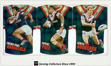 2009 Select NRL Classic Holofoil Jersey Die Cut Card Team Set Roosters (6)