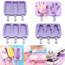 DIY Ice Cream Mold Popsicle Makers Silicone DIY Ice Bar Freezer Moulds 0050