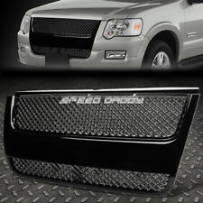 FOR 06-10 EXPLORER U251 SUV BLACK PLASTIC MESH BENTLEY STYLE FRONT GRILL/GRILLE