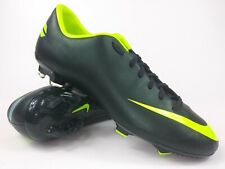 Nike Mens Rare Mercurial Victory lll FG 509128 376 Black Green Cleats Size 10