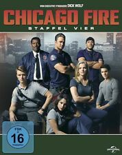 CHICAGO FIRE-STAFFEL 4   DVD NEU
