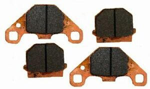4T Road Passion Front//Rear Disc Brake Pad for CAN-AM DS 90 X 2008-2011
