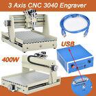 3040 CNC Router Desktop Engraving Machine 3 Axis Wood Cutter Engraver USB Port