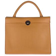 D'este сумки женские Париж Париж cammello большой с подкладкой интерьер текстурированная кожа