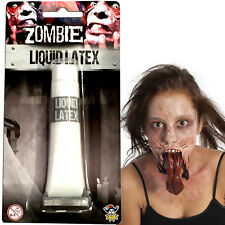 LIQUID LATEX HALLOWEEN SPECIAL MAKEUP EFFECTS ZOMBIE FLESH SCARS SKIN ADHESIVE