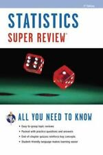 Super Reviews Study Guides: Statistics by Research and Education Association...