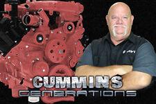 Cummins Generations / Diesel / Automotive Training / DVD / Manual / 300