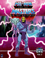 He-Man & The Masters of The Universe MOTU Season 1 vol 2 1983-4 BCI Eclipse DVD