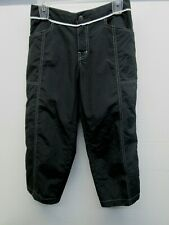 EUC Cloudveil Capri Pants Nylon shorts Hiking Black Shell lightweight sz 4 Beach
