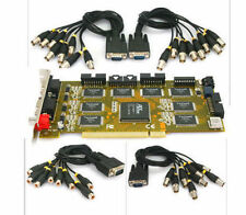 32 Channel DVR PCI Card 240FPS CCTV Video Recorder 10Bit 32 CH Techwell 6805