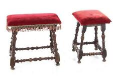 Jacobean turned walnut stools (2pcs) Lot 228