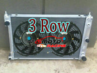 52mm ALU Radiator + FAN For Ford AU Falcon/Futura/Fairmont/Fairlane 6 & 8 Cyl AT