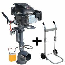 Outboard engine Jet Turbo 6,5hp 4 stro. -W/Clutch/security key &Eletric Starter