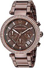 Michael Kors Original MK6378 Women's Parker Sable Stainless Steel Bracelet Watch
