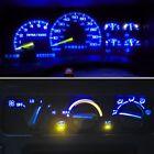 14 Royal Blue Led Kit For 1992-1999 Chevrolet Trucks Gauge Cluster Ac Controls