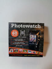 World Time Analog/Digital Calendar Photowatch New in Box