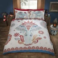 "Bedding Heaven ""KERALA"" Elephant, Indian Ethnic, Print Duvet Cover"